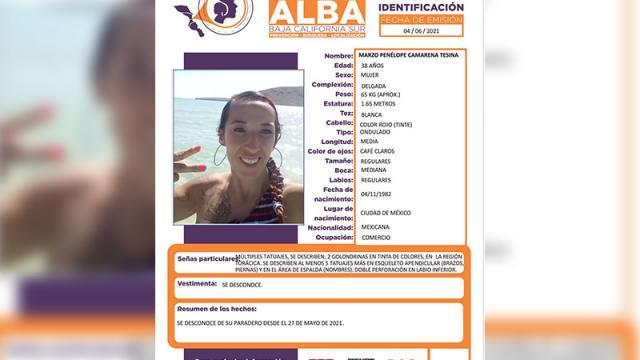 Mujer desaparecida en BCS, se desconoce su paradero