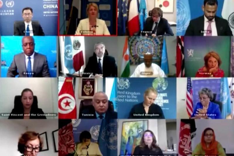 Videoconferencia organizada por Estonia, la Misión Permanente de México ante la ONU