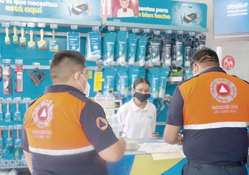PC verifica medidas sanitarias en locales y negocios