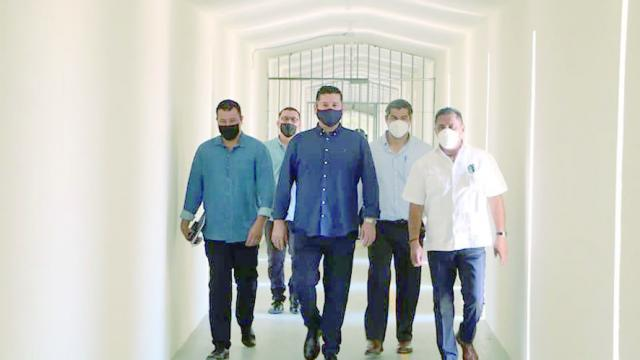 Recorren autoridades estatales Centro Penal en SJC