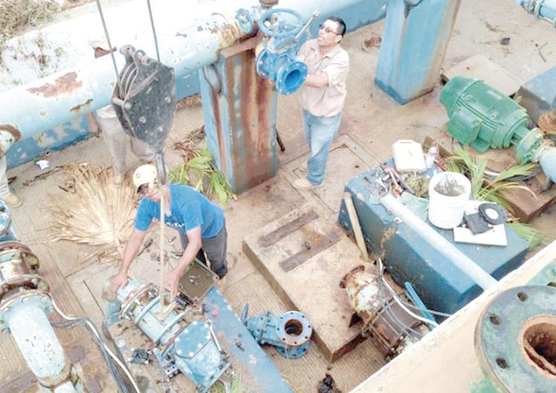 Normalizan distribución de agua potable en CSL