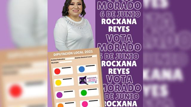 Candidata a diputada local en distrito ll por el Partido Encuentro Solidario