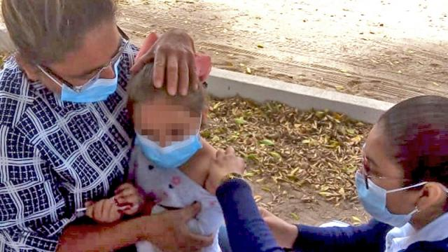 Acercan vacuna contra sarampión en localidades de Comondú