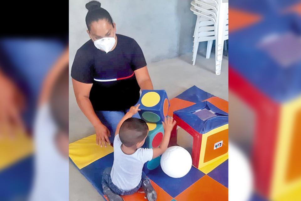 Realizan sesiones de estimulación temprana en Comondú