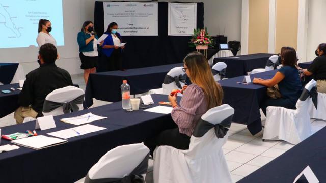 Personal de la PGJE recibe curso por el Instituto Sudcaliforniano de las Mujeres