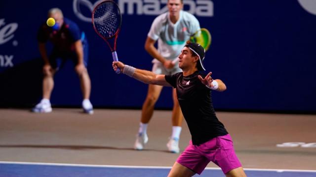 Listas las semifinales del abierto de tenis de Los Cabos
