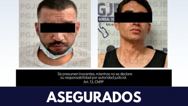 Asegurados por posesión de drogas en Mulegé y La Paz