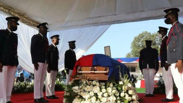 Funeral de Jovenel Moise en Haití
