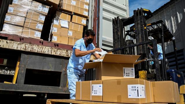 Donativo de jeringas de EEUU a Cuba