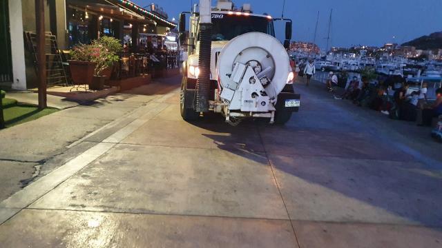 Atendido derrame de aguas negras en Marina de CSL: API