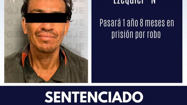 Pasará 1 año 8 meses en prisión