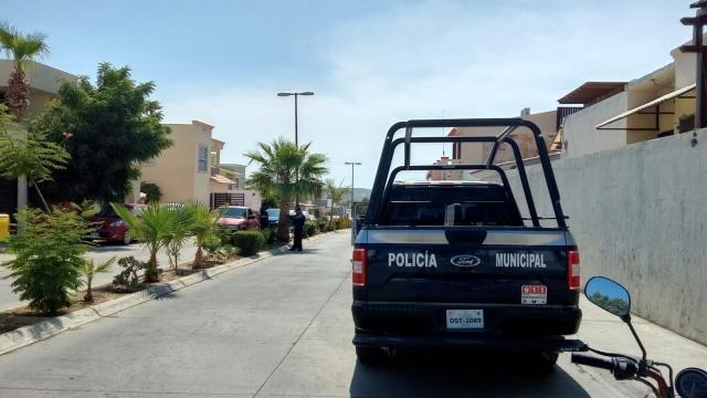 Patrulla de la Policía Municipal en fraccionamiento Monte Real