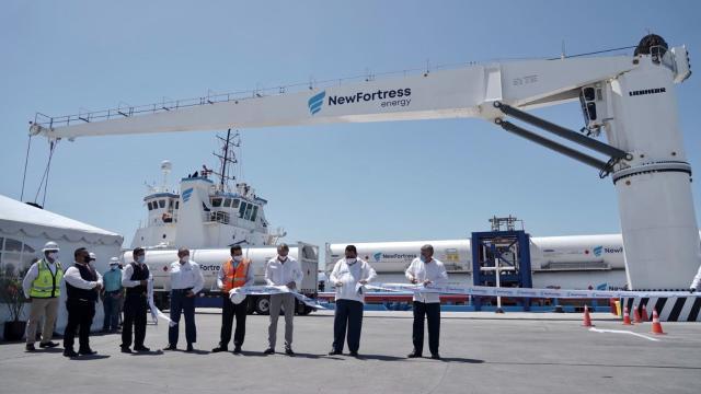 Nueva planta de gas natural inaugurada en Pichilingue